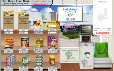 Helix Helps virtual food drive provides over 30,000 meals